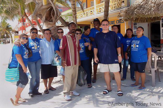 Ramon Reyes Jr. Team visits San Pedro