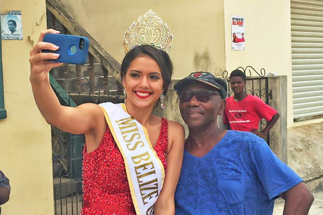 Miss Belize Universe 2016 Hits the Ground Running and Gets Her Own Song