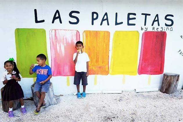 Paletas - A Favorite Belizean Treat.Headline: Paletas - A Favorite Bel