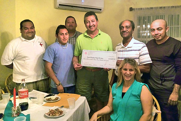 A Year in Review Belize Red Cross San Pedro Branch