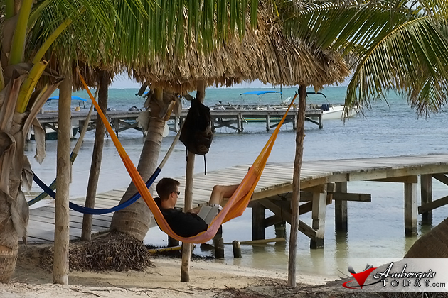 Relaxing and getting away from it all on Ambergris Caye, Belize