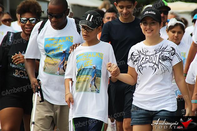 Angel Perlita Joins Rowan Garel's Walk Across San Pedro