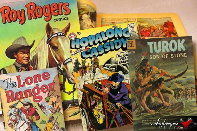 Comic Books of Roy Rogers, Hopalong Cassidy, Turok, Long Ranger
