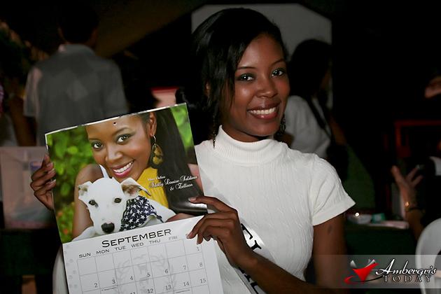 Idolly Saldivar is Miss September on Saga's 2012 Calendar
