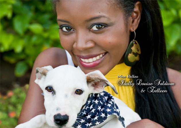 Idolly Saldivar, Miss Belize Costa Maya Contestant - photo by Conch Creative