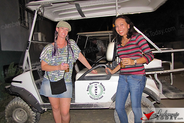 Golf Cart donated to Saga Humane Society of San Pedro by Heather Beck and Family