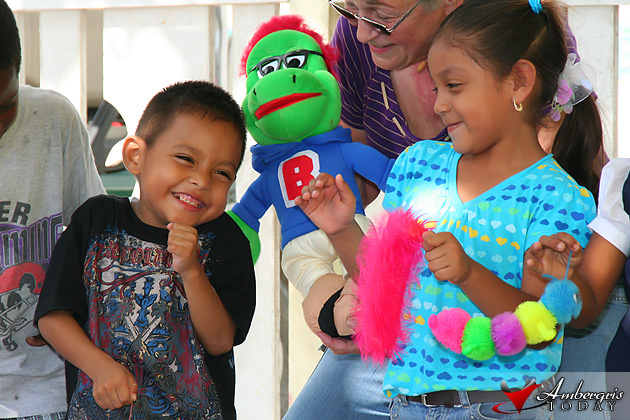 Ventriloquist Charlotte Hansen was a huge success in San Pedro