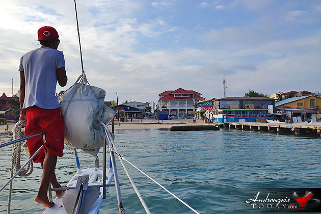Nothing Better Than a Great Sailing Day in Ambergris Caye, Belize