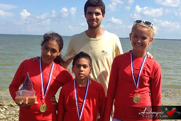 San Pedro Junior Sailing Club Excels in Corozal Bay Regatta