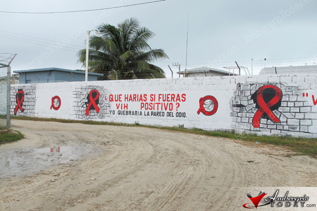 New Mural of AIDS Commission