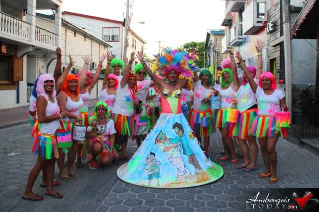 San Pedro Aids Commission Sends Thanks For Carnaval Support