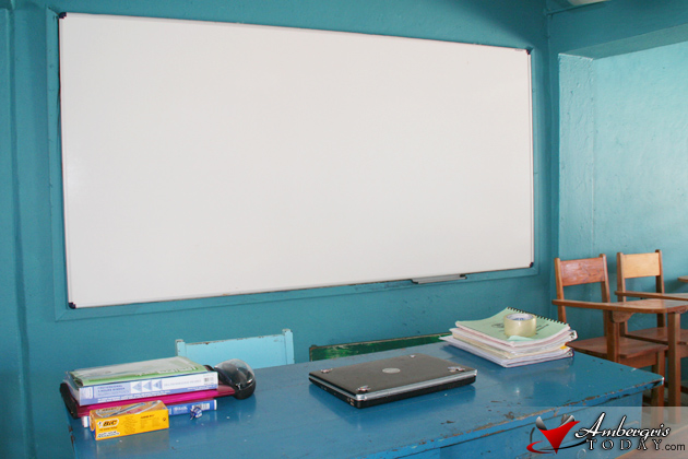 Classrooms in San Pedro Belize