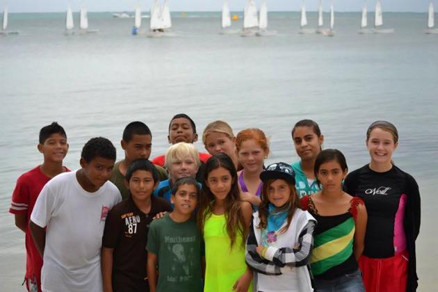 Members of the San Pedro Sailing Club