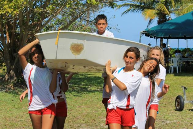 Members of the San Pedro Sailing Club, Junior Optimist Sailors