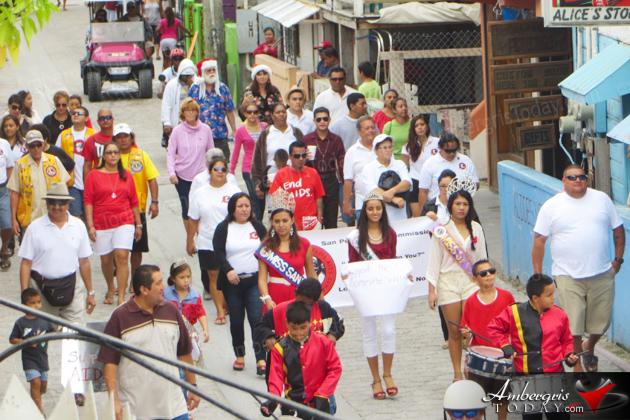 San Pedro Observes World AIDS Day 2013