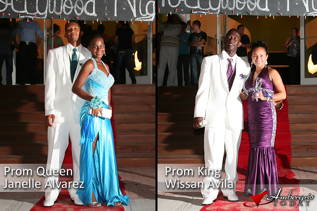 San Pedro High School Prom Queen and King