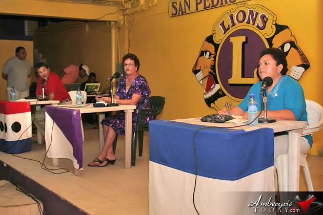 Mayoral Debate 2012 San Pedro Town Council
