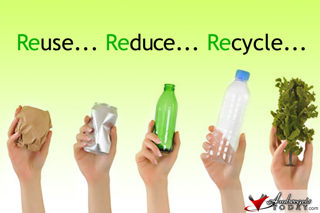 reuse, reduce, recycle