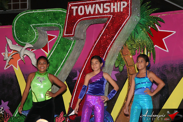 San Pedro Dance Company performs during Township celebrations in San Pedro