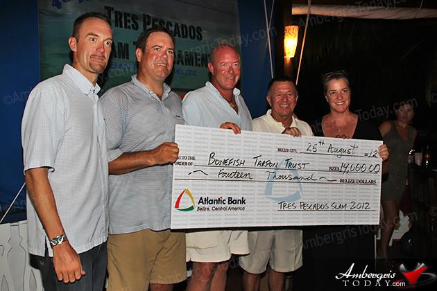 Tres Pescados Slam Tournament Raises $14,000 for Bonefish Tarpon Trust in Belize