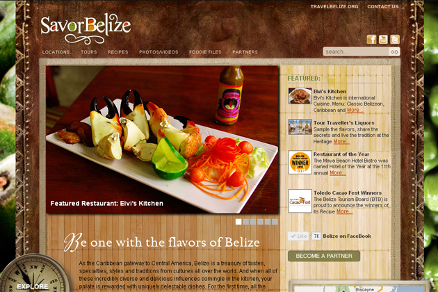 Belize Tourism Board Launches New Culinary Website called SavorBelize