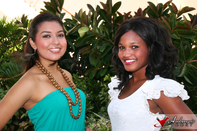 Scarleth Delgado and Anna Haylock for the Next Miss Belize