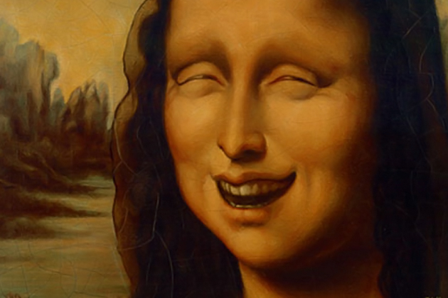 Laughter is Good Medicine -La Mona Lisa Smiling