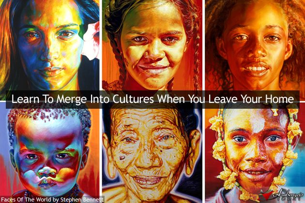 Learn to merge into different cultures