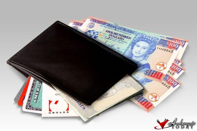 Belize Money In Wallet