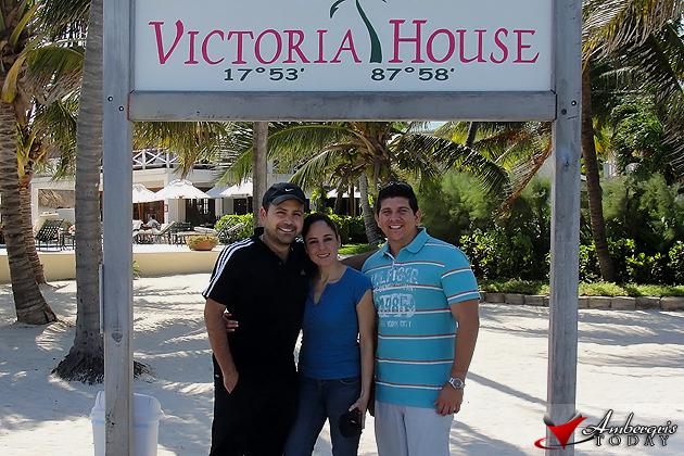 Gabriel Franco, Ana Sofia and Dorian Nunez
