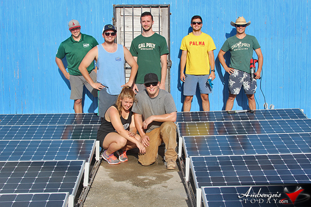 San Pedro R.C School Receives Solar Panels From Cal Poly University, California