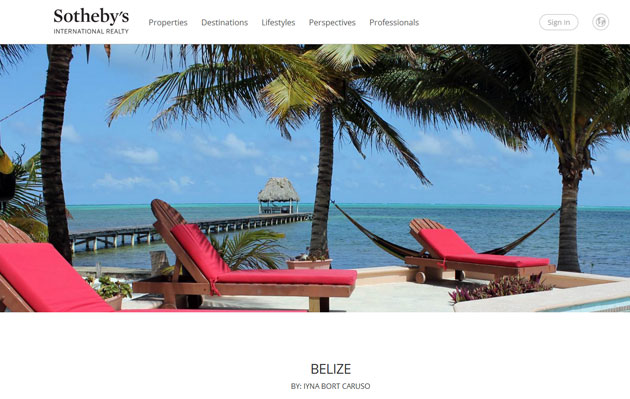Sotheby's International Realty Brand Launches Newly Designed Website