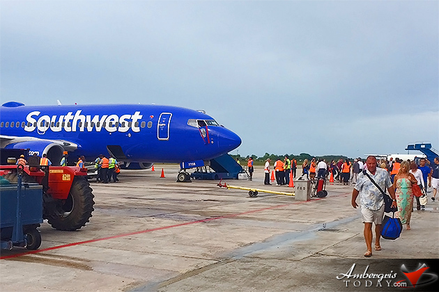 Southwest Announces FT Lauderdale to Belize Direct Flight