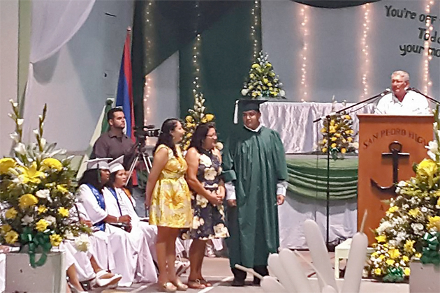 Historic 2016 Graduation at San Pedro High School