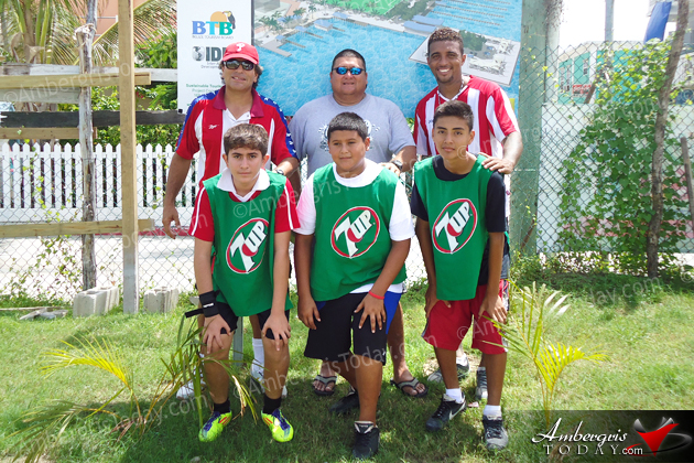 Town Council Kicks off Soccer Summer Camp