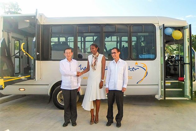 Taiwan Donates Wheelchair Accessible Vehicles to The Inspiration Center