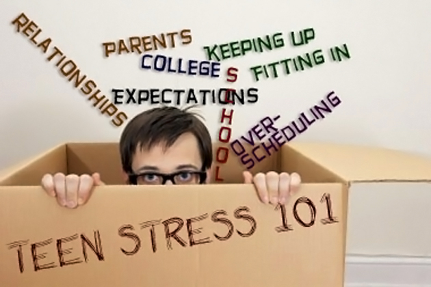Teenagers Suffer Stress Too!
