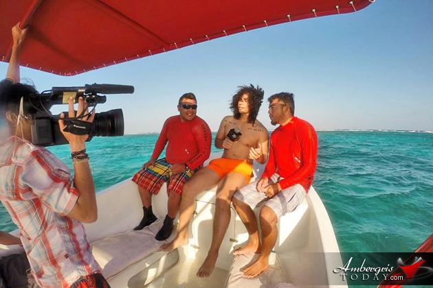 Televisa Mexico Personality Films in Belize, Ritmoson Latino, Fer Sagreeb