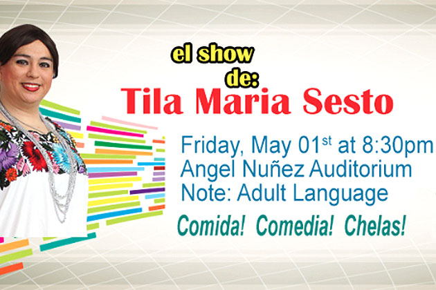 Tila Maria Comes to San Pedro for Night of Comedy and Entertainment