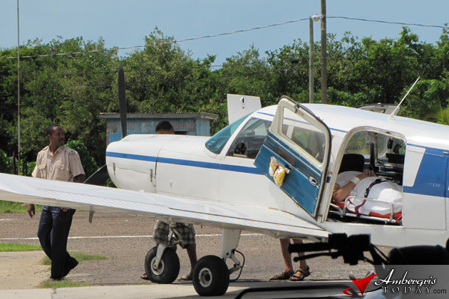 Tourist airlifted to Belize City Karl Heusner Memorial Hospital