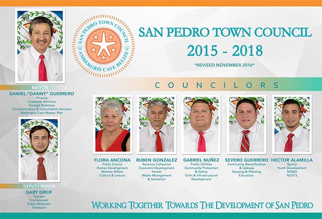 Re-Shuffle of Portfolios of San Pedro Town Council