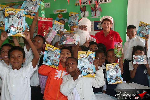 Town Council Santa Gift Giving