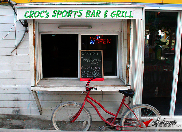 Crocs, Sports Bar and Grill wishes its customers a Happy Township Day