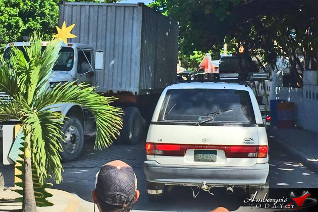 Shocked About Traffic in San Pedro, Ambergris Caye Belize