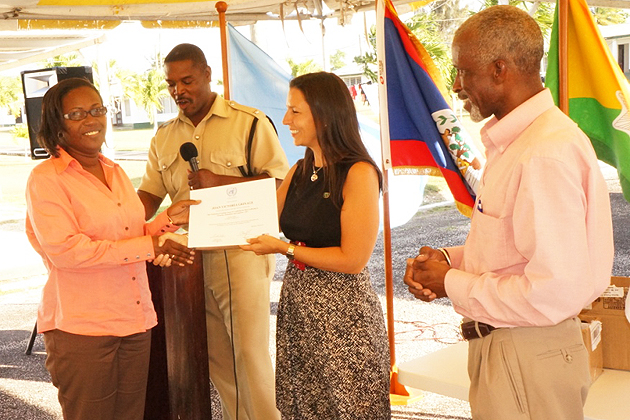 Belizeans Graduate from Training Course