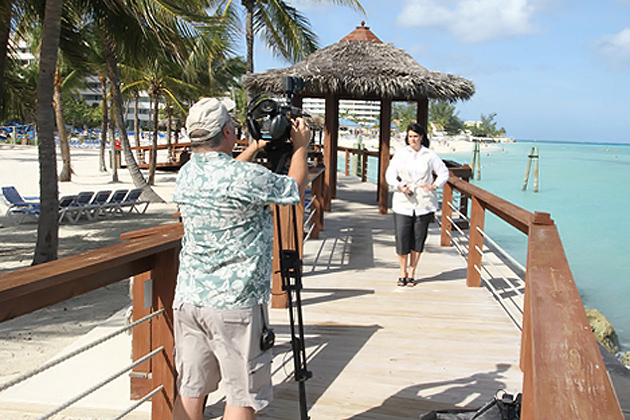 Travel With Spirit Television Filming In Belize