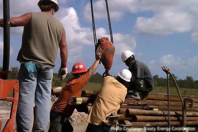Treaty Energy Corporation Strikes Oil in Belize