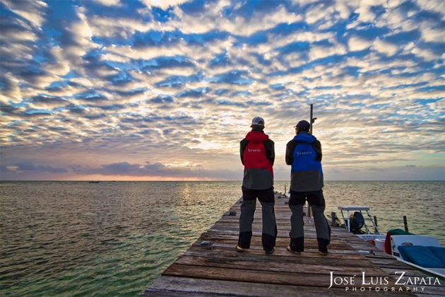 Dawn on at San Pedro, Ambergris Caye, Belize