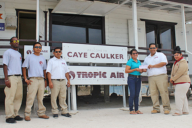 Tropic Air Gives Back To Caye Caulker Cancer Support Group