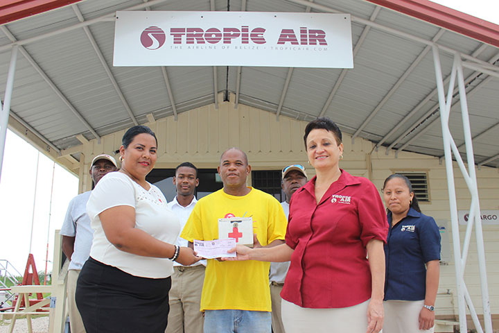 Tropic Air Gives Back To Dangriga Red Cross